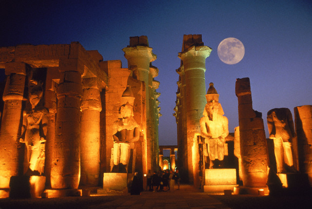 10858418-moon-over-the-temple-of-luxor